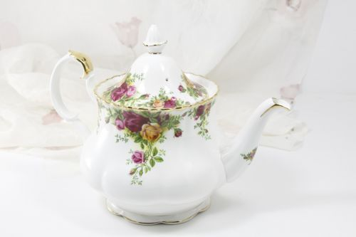Royal Albert Floral Teapot