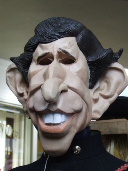 royal family prince charles mask