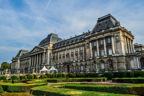 royal palace of brussels  architecture  buildings