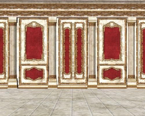 royal room ornate room throne room
