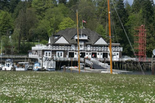 Royal Yacht Club At Stanley Park