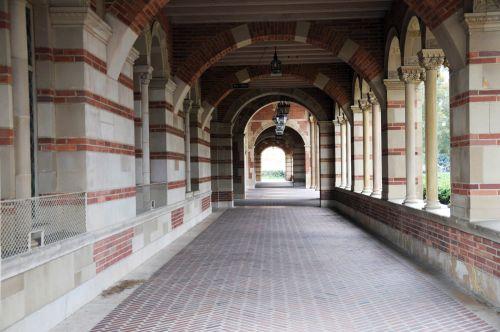 Royce Hall Walkway