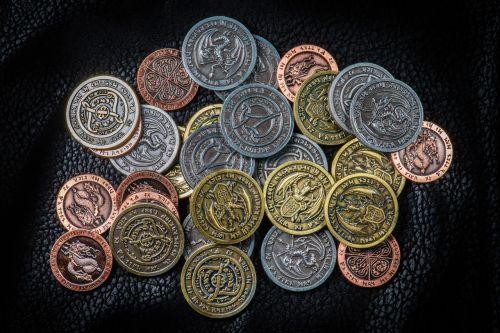 rpg coins larp coins token coins
