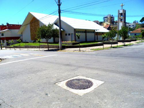 Street And Culvert