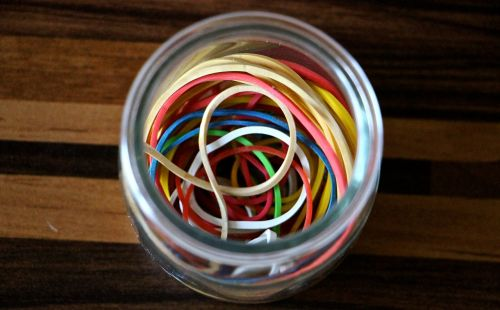 rubber bands kitchen utensils tools