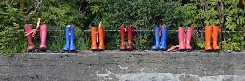 rubber boots shoes boots
