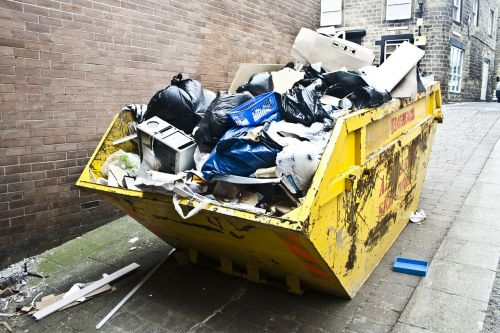 rubbish litter trash