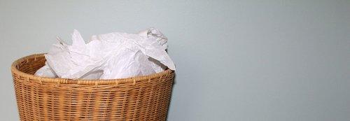 rubbish  basket  waste