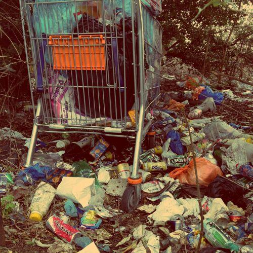 rubbish trash waste