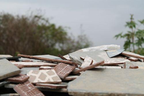 rubble destruction broken