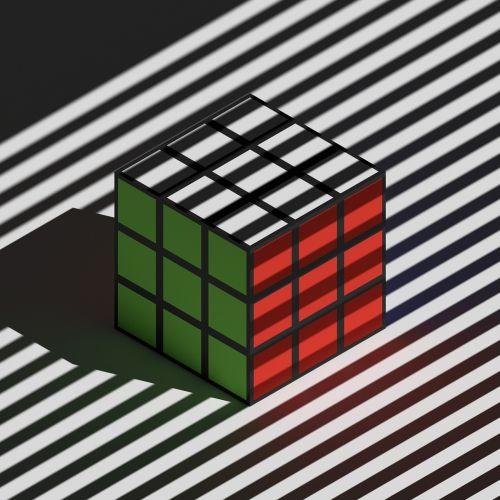 rubiks cube rubik's cube isometric