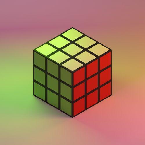 rubiks cube rubik's cube colorful light