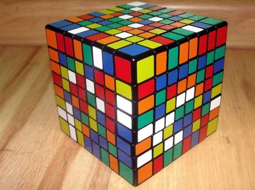 rubik's cube 8x8x8 jigsaw puzzle