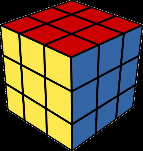 rubik's cube puzzle toy