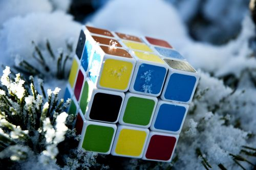 rubik's cube game solution