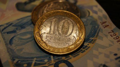ruble macro money