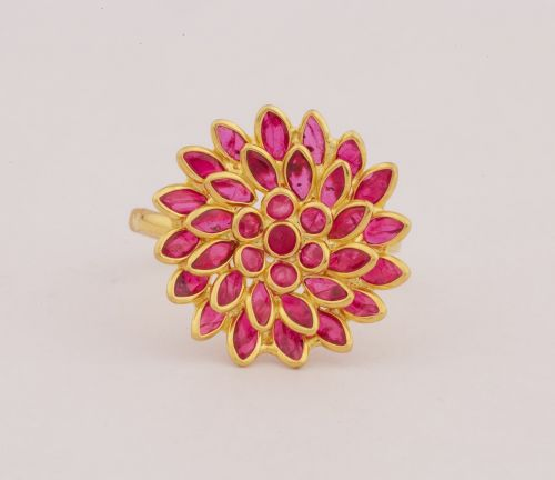 ruby jewellery ring