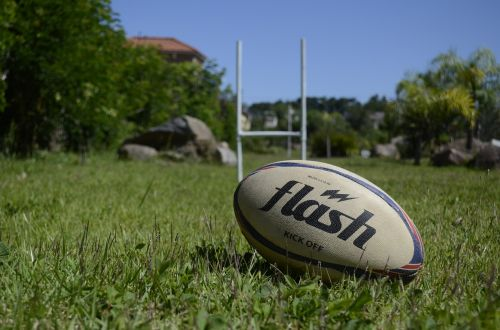 rugby sport ball