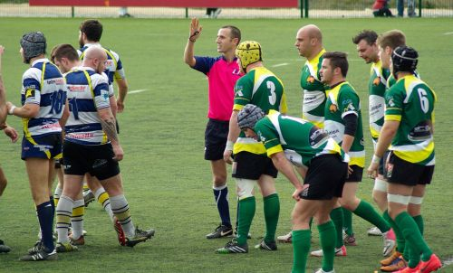rugby referee lawn