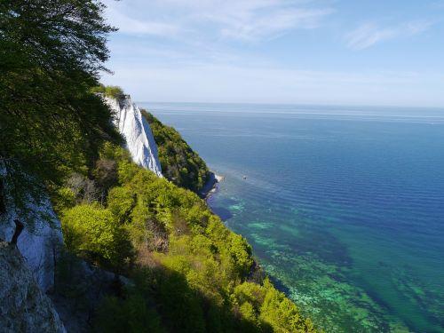 rügen white cliffs sea
