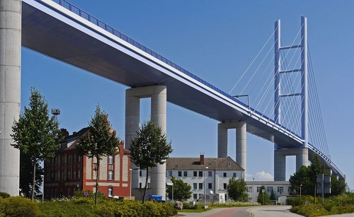 rügen bridge  overbuilt  ramp