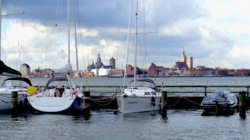rügen island altefähr port