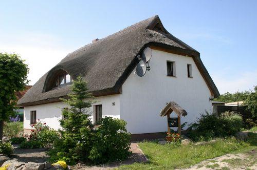rügen island baltic sea thatched roof