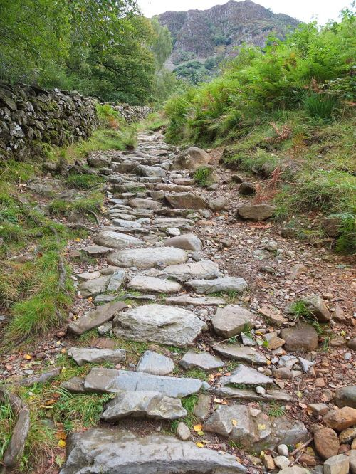 rugged pathway lakedistrict