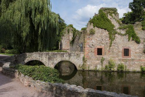 ruin castle church