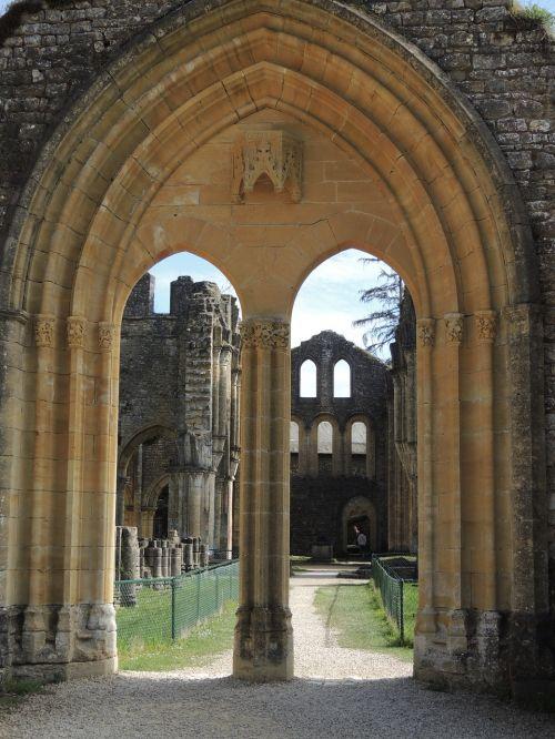 ruin abbey monastery