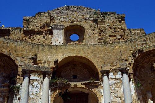 ruin  church  old