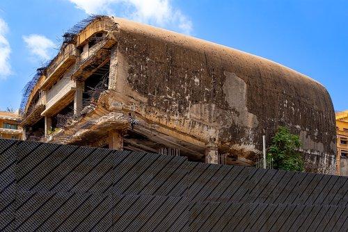 ruin  building  cinema