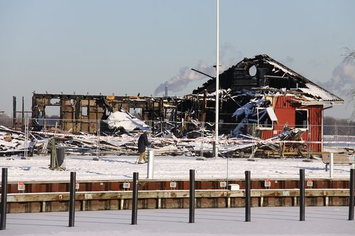 ruin  clubhouse  burned