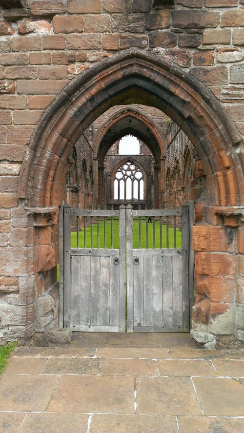 ruin church ruins gothic