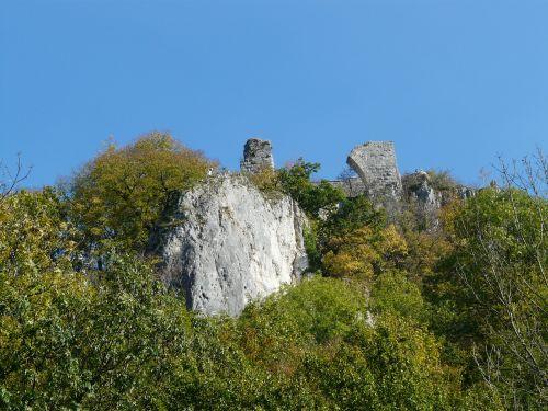 ruin hohengerhausen ruin castle