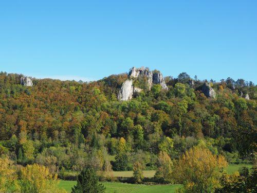 ruin hohengerhausen rusenschloss ruin