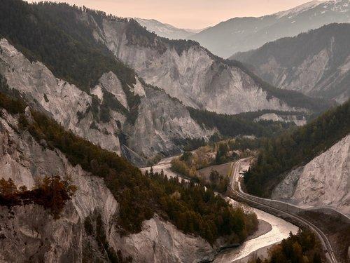 ruinaulta  rhine gorge  rock
