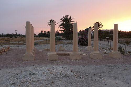 ruins archaeology elche