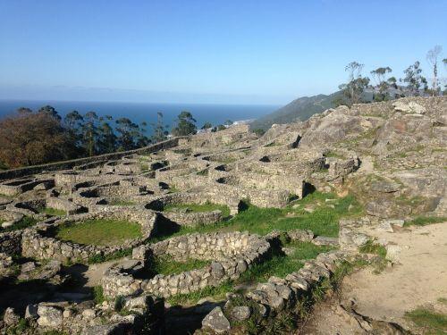 ruins celtic galicia