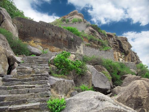ruins ancient mountain