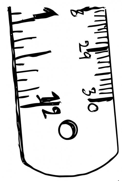 ruler length inches