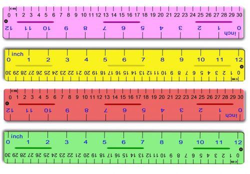 ruler marker centimeters