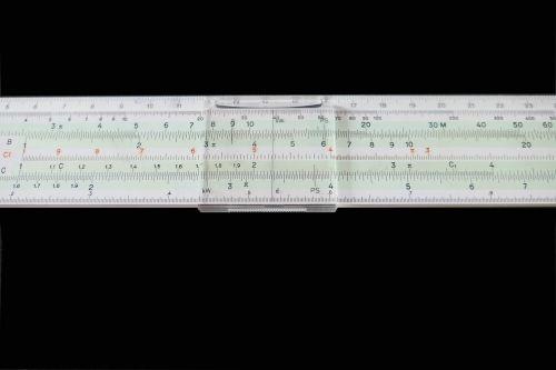 ruler slide rule calculation