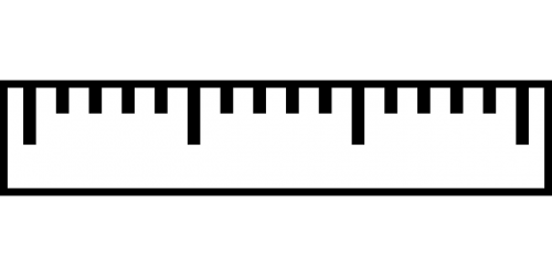 ruler inch measure