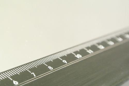 ruler dimension measure