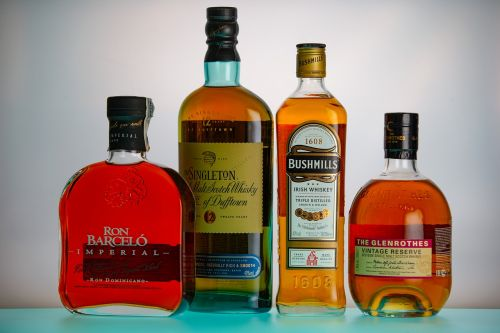 rum whiskey alcohol