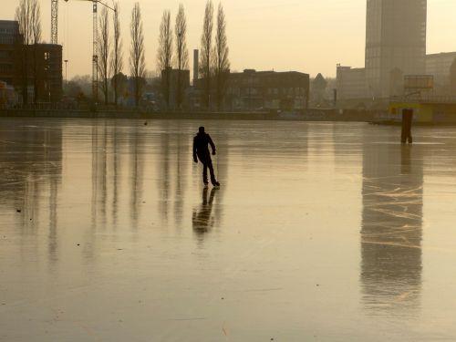 rummelsburg bay berlin winter