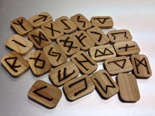 runes rune set runic magic