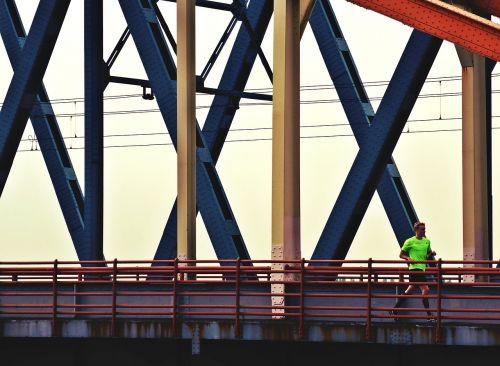 runner bridge crosses