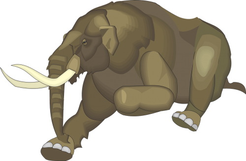running animal ancient